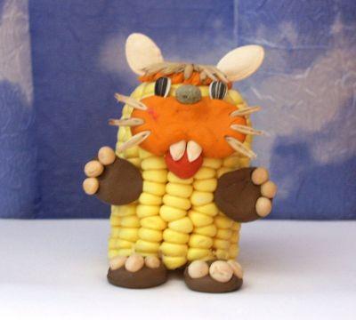 Поделки из кукуруза своими руками